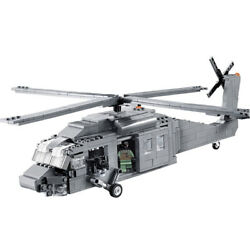 UH 60 Black Hawk Helicopter Custom Military Minifigures Building Block Toys $40.00