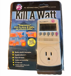 P3 International MODEL P4400 Kill A Watt Electricity Usage Monitor $29.99