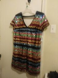 NWT Sequin Tunic Party Dress Xl $46.00