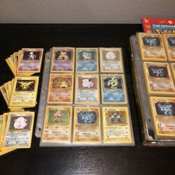 ORIGINAL Pokemon 10 Card Lot Vintage WOTC Sets 1st Edition Rare Holo Rare $24.99