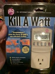 P3 International Kill A Watt Electricity Usage Monitor Model #P4400 Brand New $24.99
