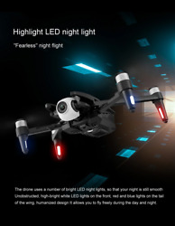 WIFI FPV Drones With Camera 6K HD Foldable RC Quadcopter For Adults Proffesional $279.29