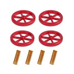 Upgraded 4PCS Creality Aluminum Hand Twist Leveling Nut with 4PCS Hot Bed Die... $17.54