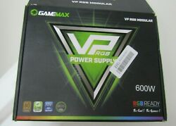 GAMEMAX VP 600 RGB Power Supply 600W with ECO Mode $47.99
