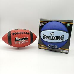 Spalding Varsity NBA 27.5quot; Outdoor Basketball Blue Light Blue Comes With Box $21.99