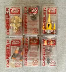 APPLAUSE Episode 1 STAR WARS DANGLERS Full Set of 6 STARSHIPS Spaceships NEW $4.99