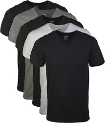 Gildan Men#x27;S V Neck T Shirts Multipack $21.99