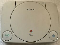 NOT WORKING Sony Playstation PS One PS1 Video Game Console POWER ISSUES $19.50