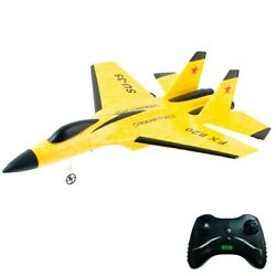 RC Plane 2.4Ghz 2CH Remote Control Airplane Ready To Fly RTF Gliding Aircraft $27.88
