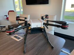 DJI Wind 2 UAV drone in case with RC and Battery used for parts $4500.00