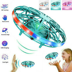 Flying UFO LED Ball Mini Induction Suspension RC Aircraft Drone Helicopter Toy $12.99