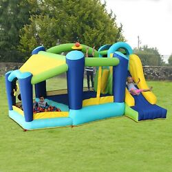 My First Jump n Slide Bounce House with Ball Pit and continuous air blower $249.00