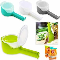 Chip Bag Clips for Food Snack Kitchen Bag Sealing Clips with Pour Spouts 4PCS $15.99