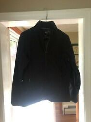 LLBean women#x27;s jacket; black; small excellent condition $16.00
