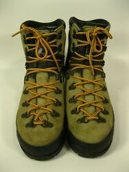 LA SPORTIVA Mountain Women#x27;s Brown Suede Mountaineering Boots Size 40.5 US 9 $76.47