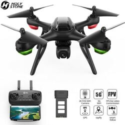 Holy Stone HS130D GPS Drone 2K FHD Camera 5G WIFI FPV RC Quadcopter Helicopter $84.97