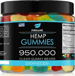 Natural Gummies for Stress Relief Great for Pain Insomnia amp; Anxiety 100ct $23.95