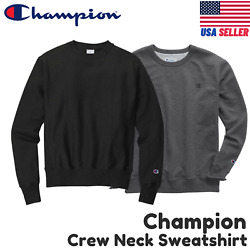 Champion S600 Crewneck Eco Fleece Pullover Sweatshirt Choose Size amp; Color $16.95