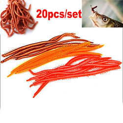 20PCS Lot Artificial Sea Worms Soft Fishing Lures Soft Bait Lifelike Lures $4.50