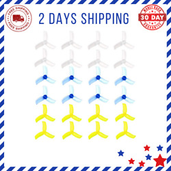 24pcs 2040 3 Blade Propellers 2.0 Inch Triblade Props Compatible with 0804 0806 $17.33