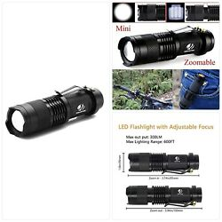 yIFeNG Tactical Flashlight LED Mini Taclight Water Resistant Ultra Bright High $12.81