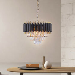 Modern Crystal Chandelier Light American Ceiling Lights luxury crystal led Lamp $139.99