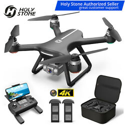 Holy Stone HS270 Foldable RC Drone With 2K HD Camera 5G Wifi GPS FPV Quadcopter $114.00