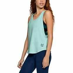 Under Armour UA Side Strap Size X Small Refresh Mint Women#x27;s Active Tank $14.99