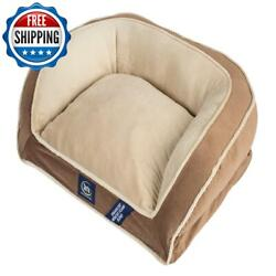 Small Pet Bed Mattress Dog Orthopedic Memory Foam Sleep Mini Couch Bed Brown $52.99