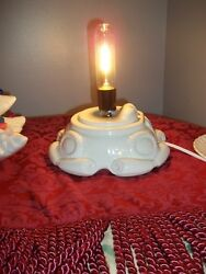 REPLACEMENT BASE quot; ONLYquot; FOR VTG CERAMIC XMAS TREE LITE OLD ATLANTIC WIRED $44.00