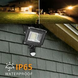 20W Outdoor PIR Motion Sensor Flood Light Waterproof LED Porch Security Lamp US $14.59