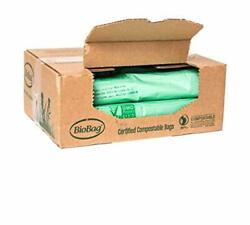Compostable Bags 23 Gallon Trash Can Liners Case of 120 23 Gallon 120 Count $116.37