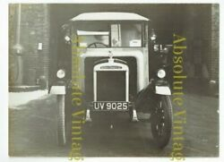 OLD MOTOR PHOTOGRAPH MORRIS COMMERCIAL POST OFFICE DELIVERY VAN VINTAGE 1920S