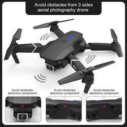 E525 PRO RC Quadcopter Professional Obstacle Avoidance Drone Dual Camera 1080P $100.00