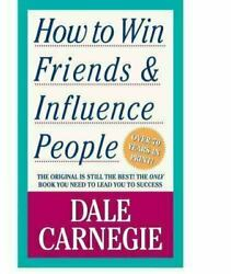 How to Win Friends and Influence People by Dale Carnegie x library book $10.25
