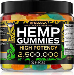 Natural Gummies for Stress Relief Great for Pain Insomnia amp; Anxiety 100ct $24.95