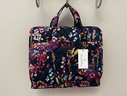 Authentic Vera Bradley Hanging Organizer in Midnight Wildflowers NWT MSRP $65 $40.00
