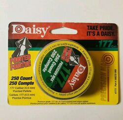 Daisy Pointed PRECISION MAX Pellets .177 Caliber Tin of 250 Count Airgun Ammo $9.00