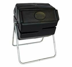 FCMP Outdoor Roto Tumbling Composter Single Black Twin $157.84