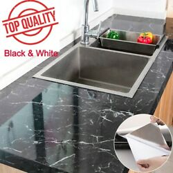 Marble Contact Paper Self Adhesive Peel amp; Stick Wallpaper PVC Kitchen Countertop $6.99