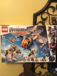 LEGO Avengers Hulk Helicopter Rescue Super Heroes 76144 New $44.95
