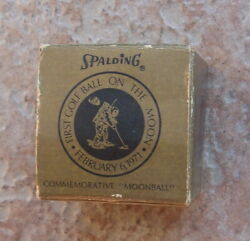 Vintage 1971 Spalding Moon Golf Ball In Original Box $25.00