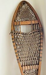 Vintage TUBBS Maine Model Snowshoes12x45 Model no. 70. actual 39quot; tall 12quot; wide $165.00