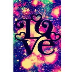 DIY Kits Canvas Diamond Painting 5D Full Drill Love Letter Poster Embroidery Art $11.95