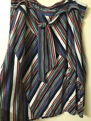 Women's Cato Striped Skirt Plus Size 22 24 $7.99