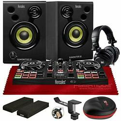 Hercules All In One DJLearning Kit DJControl Inpulse 200 Compact DJ Controller $347.84