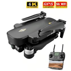 2021 WiFi GPS Drones With Camera 6K HD Foldable Rc Quadcopter 5G Pro Camera Toys $208.99