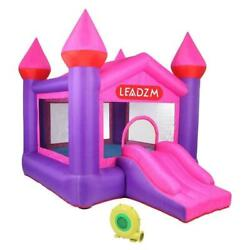 Safety Inflatable Bounce House Kids Jumping Castle Big Slide 450W Blower Bag $219.95