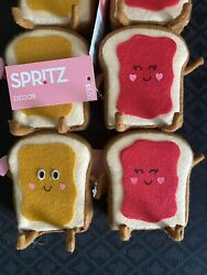 Target Spritz 2021 Valentine's Day Peanut Butter and Jelly Sandwich 1 Pair NEW $24.95