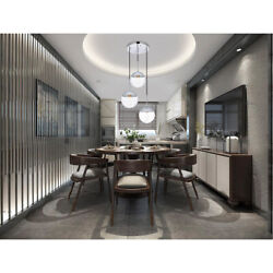 CHANDELIER CHROME PENDANT CLEAR GLASS DINING ROOM KITCHEN ISLAND 3 LIGHT 18quot; $280.00